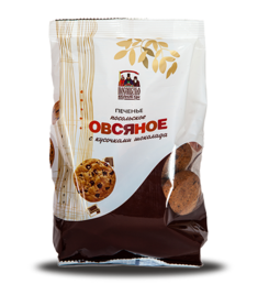 "Cookie ""Posolskoe oaten with chocolate pieces"""