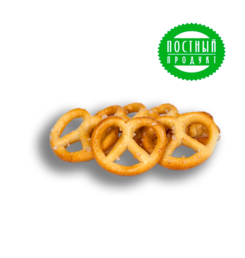 "Pretzels ""Posolskie with sea salt"" weighing"
